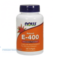 NOW - E - 400 mixed + Selenium (100 softgels)