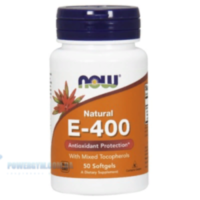 NOW - E-400 mixed (50 softgels)