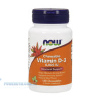 Chewable Vitamin D-3 5000 IU