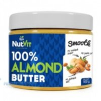 NUTVIT 100% ALMOND BUTTER 500G