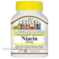 21st Century Niacin 250 mg 110 Tablets