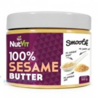 NUTVIT 100% SESAME BUTTER SMOOTH 500G