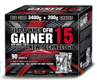 Ultra Whey CFM Gainer 15 3600 грамм