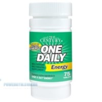 21st Century One Daily Energy 75tablets