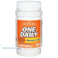 21st Century One Daily Woman's 50+ Multivitamin Multimineral 100 Tablets