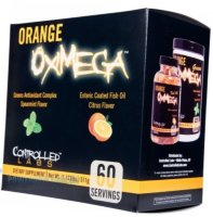 Orange OxiMega Greens 327г / OxiMega Fish Oil 60 порций