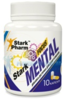 Stark Pharm Mental Focus (Modafinil, Theanine, B6, Caffeine, DMAA) 10 капс