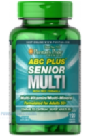 ABC Plus® Senior Multivitamin 120 каплет