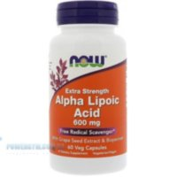 NOW - Alpha Lipoic Acid 600 mg (60 caps)