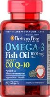 Omega-3 Fish Oil 1000 mg plus Co Q-10 30 mg 60 капс