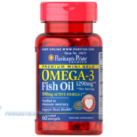 Omega-3 Fish Oil 645 mg Mini Gels (450 mg Active Omega-3) 60 капс