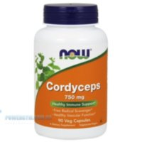 NOW - Cordyceps 750mg (90 caps)