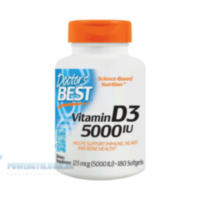 Doctor's Best Vitamin D3 2000 IU 180 caps