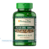 Flax Oil 1000 mg Omega 3-6-9