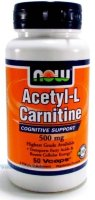 Acetyl-L-Carnitine 500 мг 50 капс