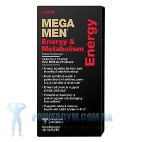Mega Men Energy & Metabolism 180 каплет