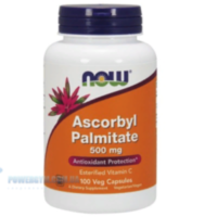 NOW - ASCORBYL PALMITATE 500MG (100 CAPS)